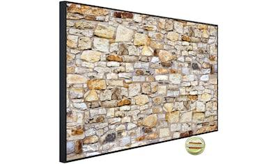 Papermoon Infrarotwandheizung »Die Mauer«, sehr angenehme Strahlungswärme kaufen