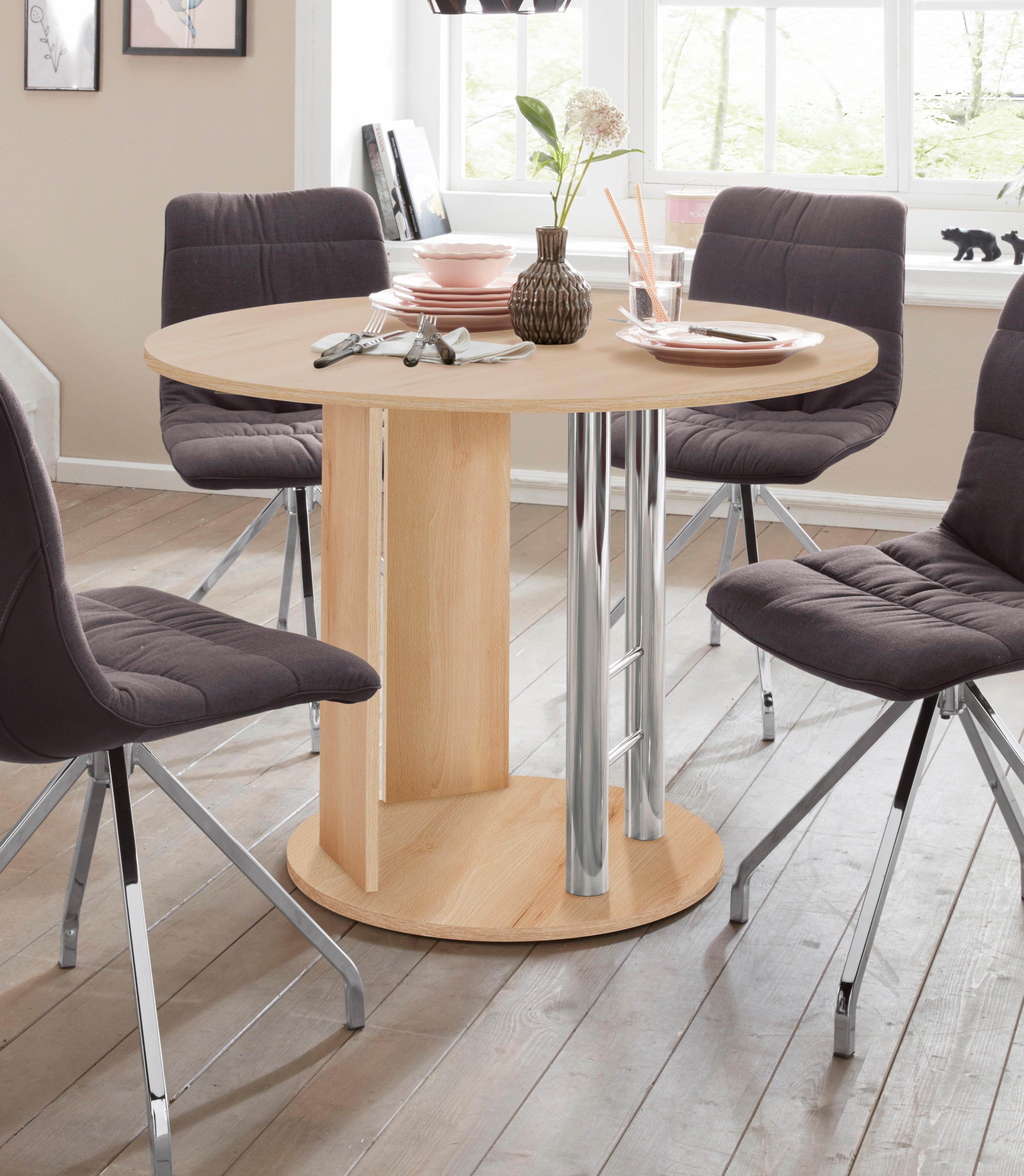 Säulen-Esstisch Rondell Wohnen/Möbel/Tische/Esstische/Säulentische