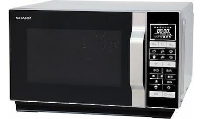 Sharp Mikrowelle »R860S«, Grill und Heißluft, 900 W kaufen