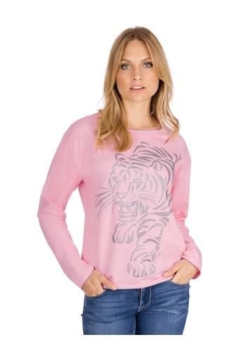 """Trigema Sweatshirt mit """"Tiger"""" - Druckmotiv kaufen"""