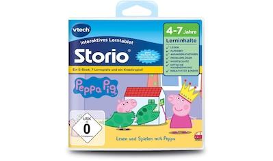Vtech® Spiel »Storio Lernspiel, Peppa Pig«, vtech kaufen