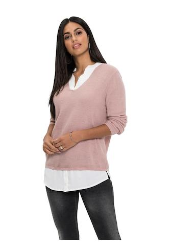 Pullover im 2 - in - 1 - Look kaufen