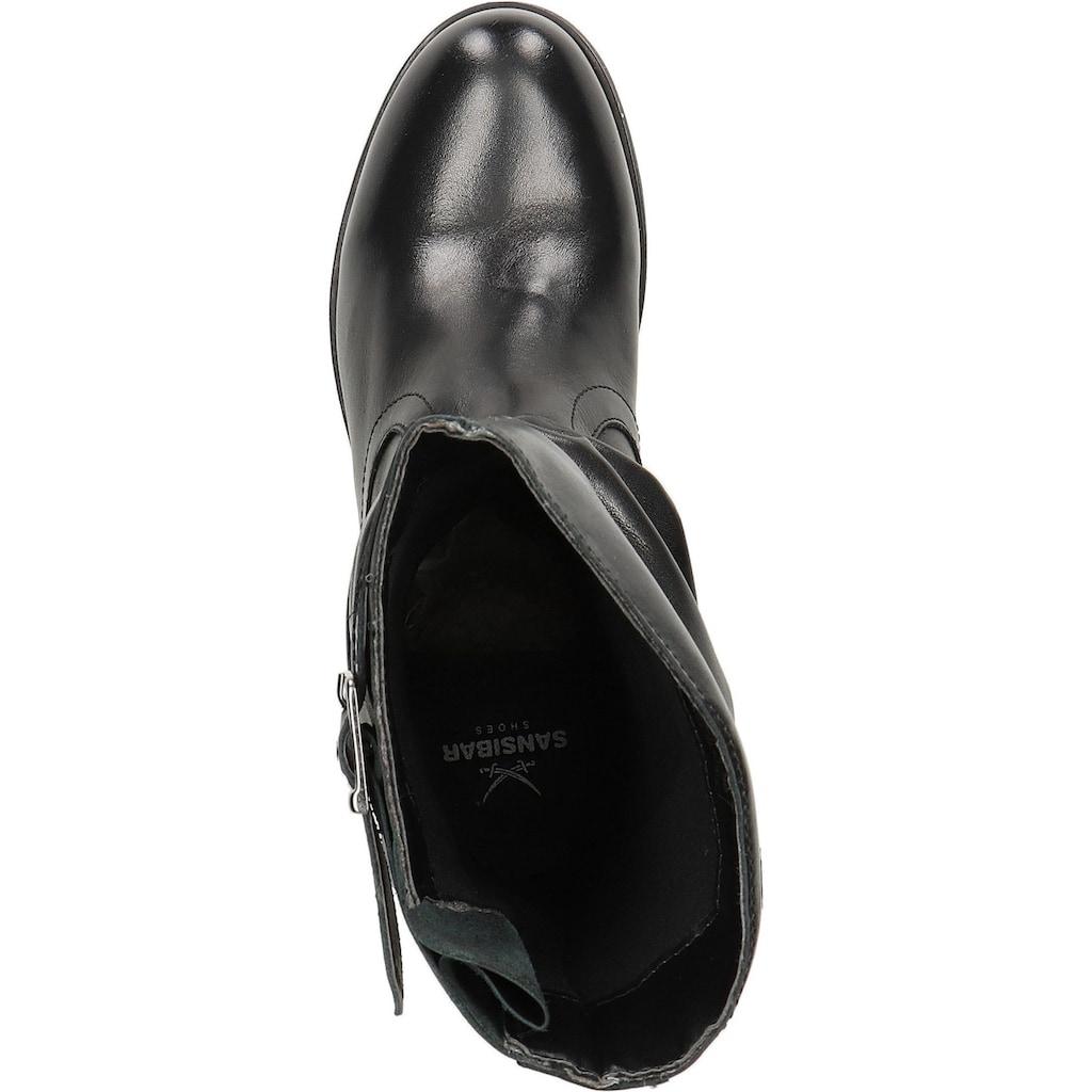 Sansibar Stiefel »Leder«