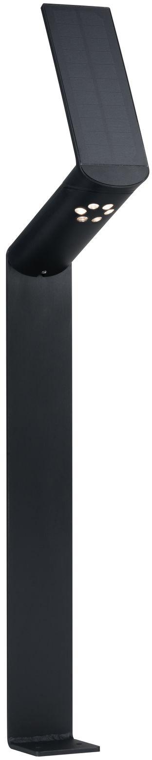 Paulmann LED Pollerleuchte Ilias, LED-Board, 1 St., Warmweiß, Outdoor Solar, mit Bewegungsmelder