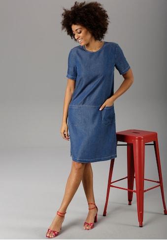 Aniston CASUAL Jeanskleid, aus weicher Tencel-Qualität - NEUE KOLLEKTION kaufen