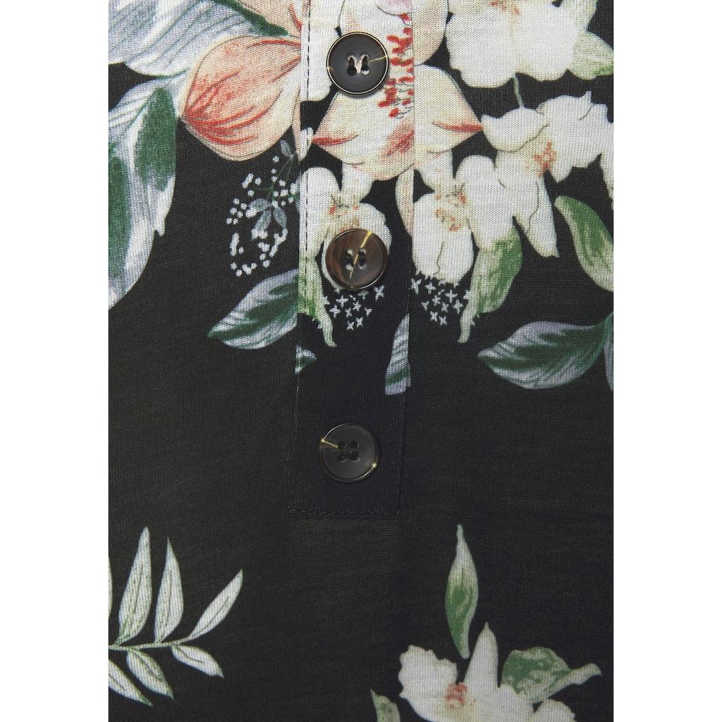 LASCANA Strandkleid, mit Blumendruck