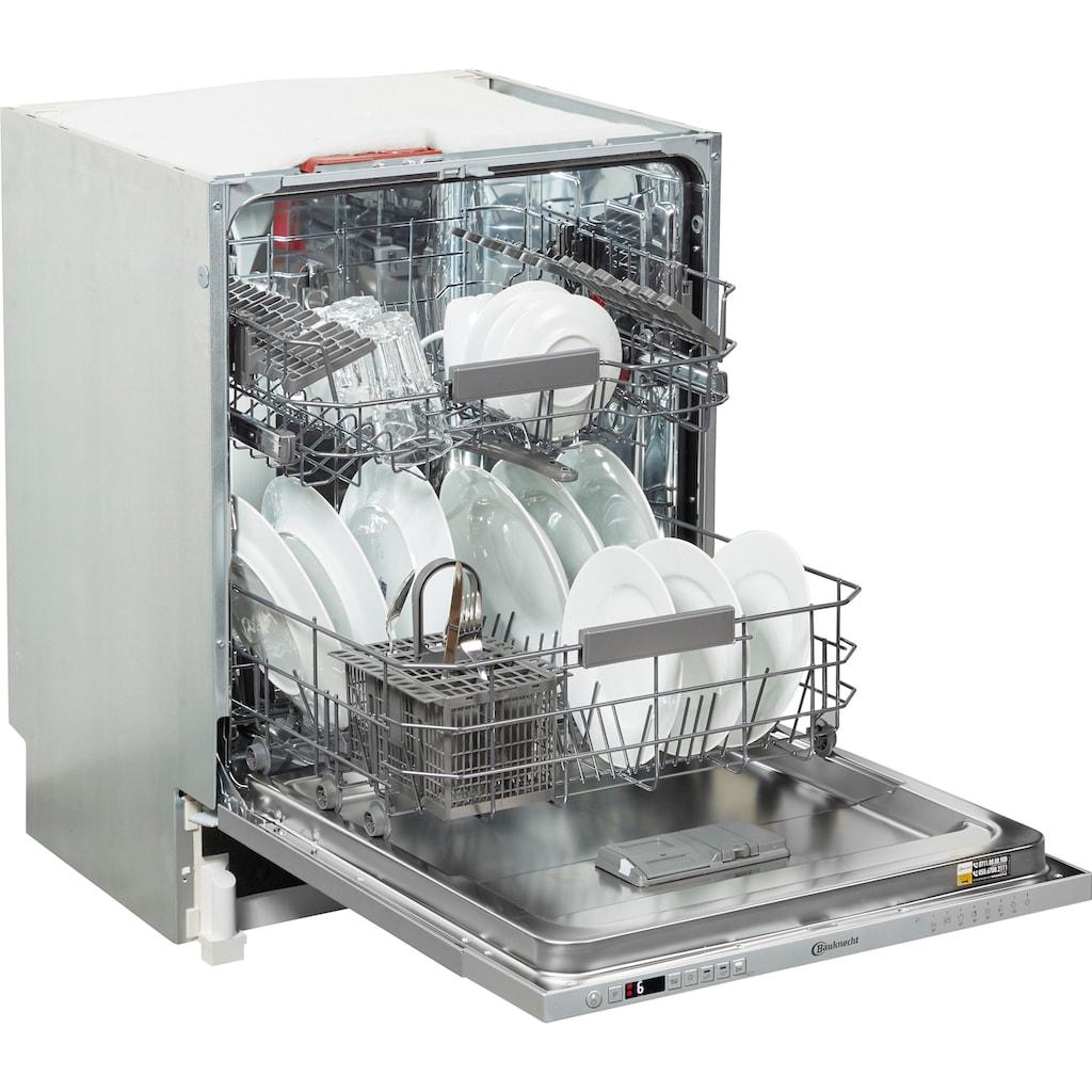BAUKNECHT vollintegrierbarer Geschirrspüler »OBIC ECOSTAR 5320«, OBIC ECOSTAR 5320, 9,5 l, 14 Maßgedecke