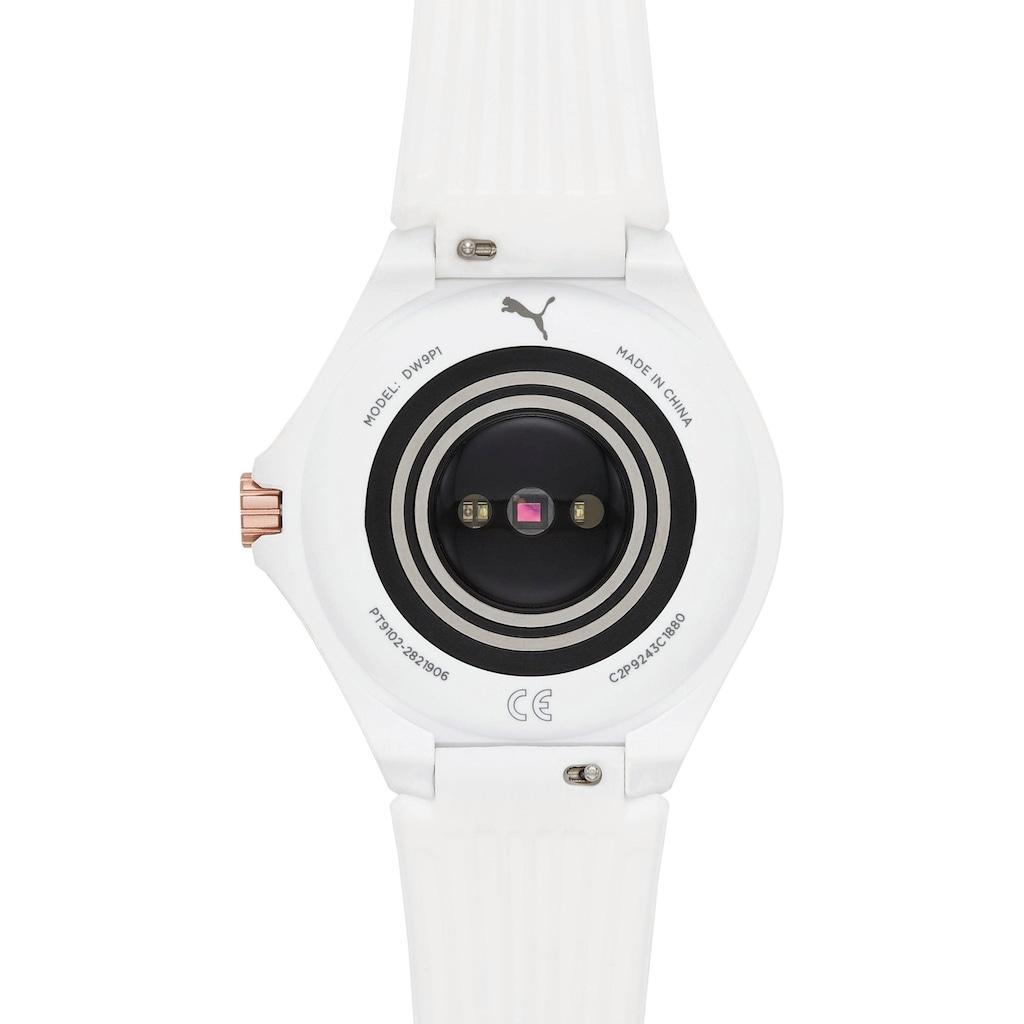 PUMA Smartwatches Smartwatch »PT9102« (, mit individuell einstellbarem Zifferblatt