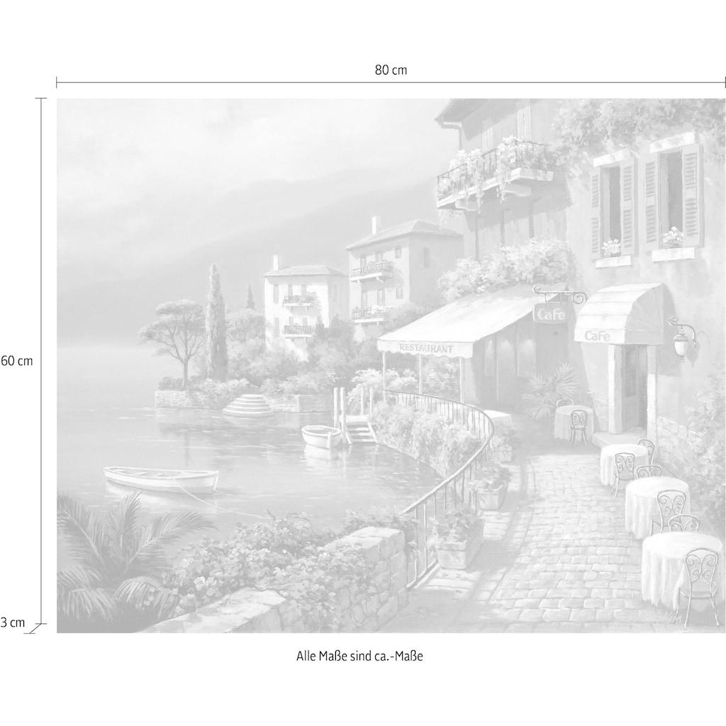 DELAVITA Deco-Panel »SUNG KIM / Küste Bistro Café«, (80/3/60 cm)
