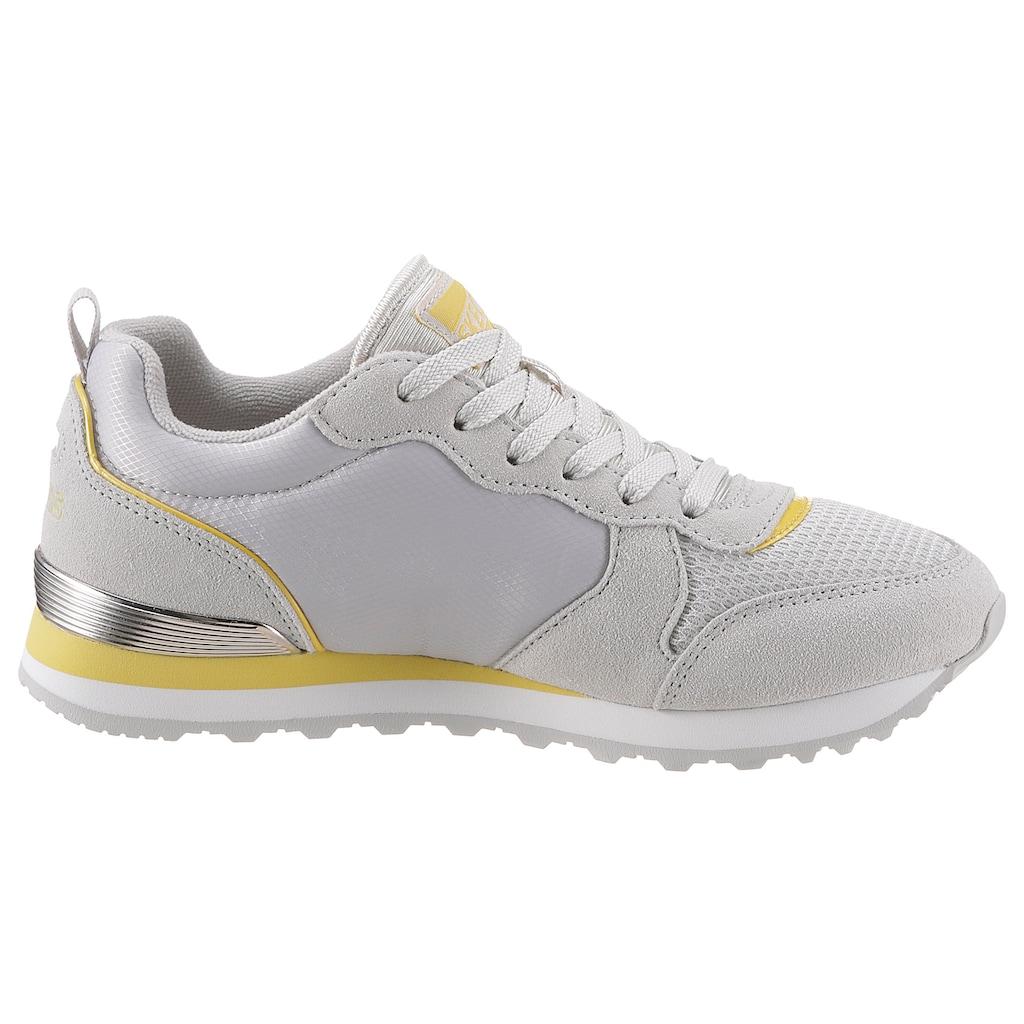 Skechers Sneaker »Nylon Quarter Lace Up Jogger«, im modischen Kontrastlook