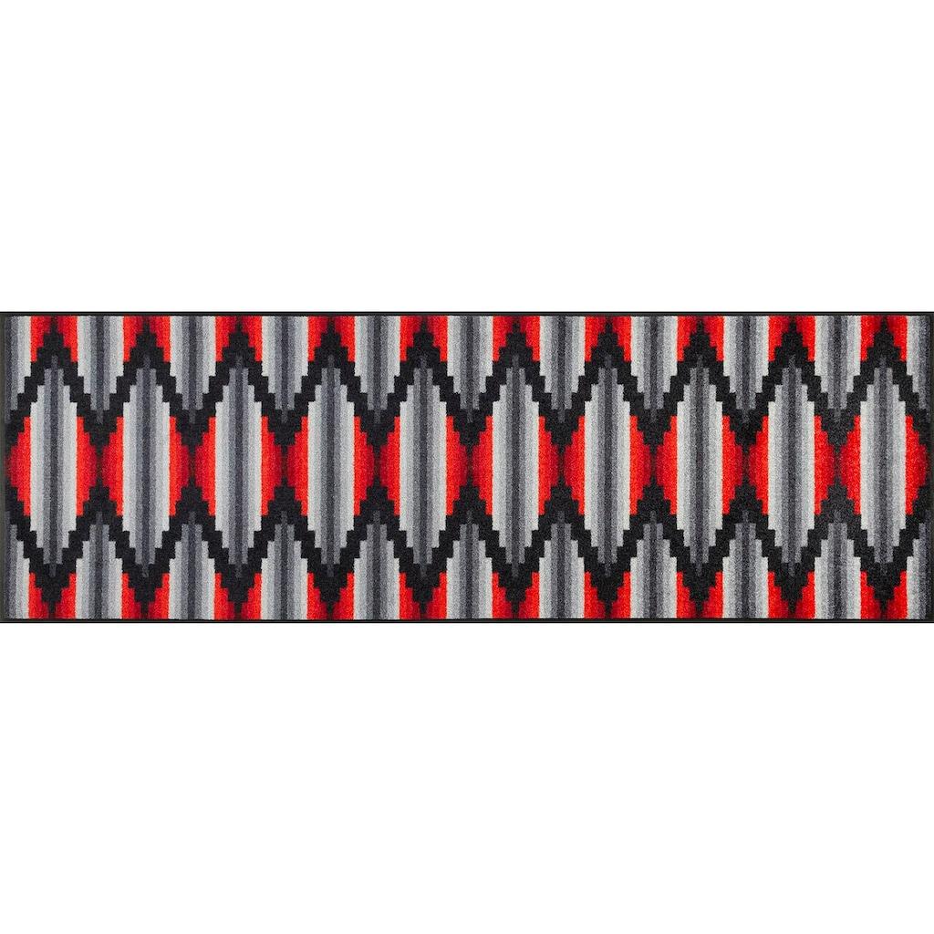 wash+dry by Kleen-Tex Läufer »Ribanna«, rechteckig, 7 mm Höhe, In- und Outdoor geeignet, waschbar