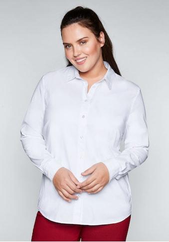 Sheego Hemdbluse, mit Stretch-Anteil kaufen
