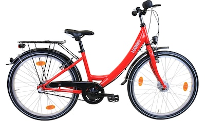 HAWK Bikes Jugendfahrrad »HAWK Kinderrad Girls Red«, 3 Gang Shimano Nexus Schaltwerk kaufen