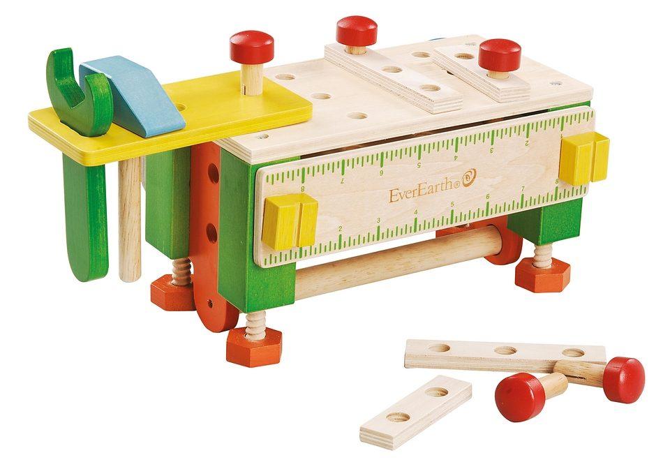 2-in-1 Werkzeugkasten und Werkbank EverEarth Preisvergleich