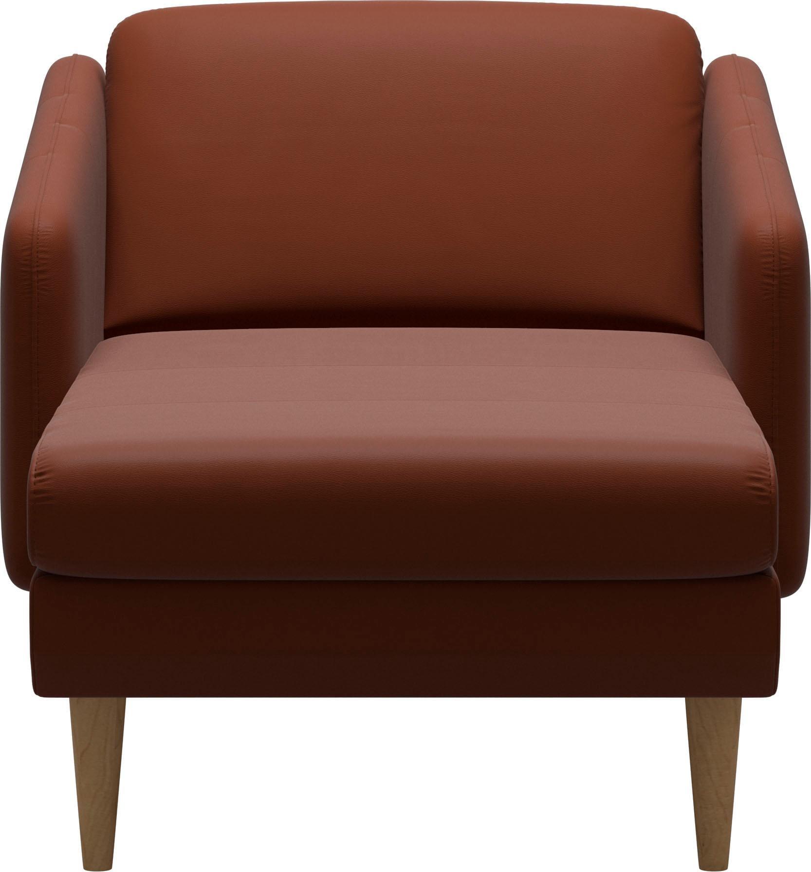 Stressless® Longseat »Eve« mit geraden Holzüßen in 3 Ausführungen