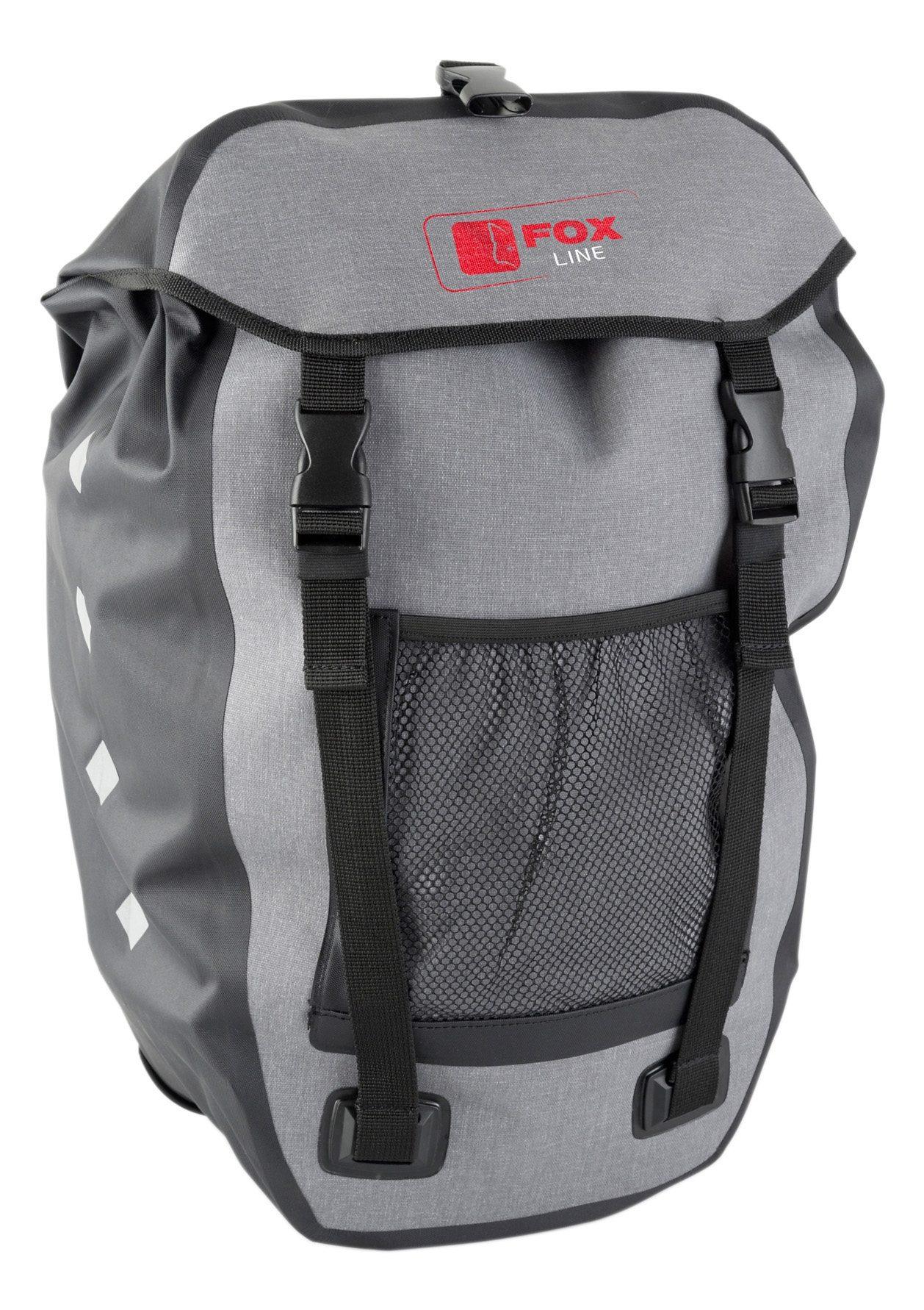 Fox Line Fahrradtasche Technik & Freizeit/Sport & Freizeit/Fahrräder & Zubehör/Fahrradzubehör/Fahrradtaschen/Gepäckträgertaschen