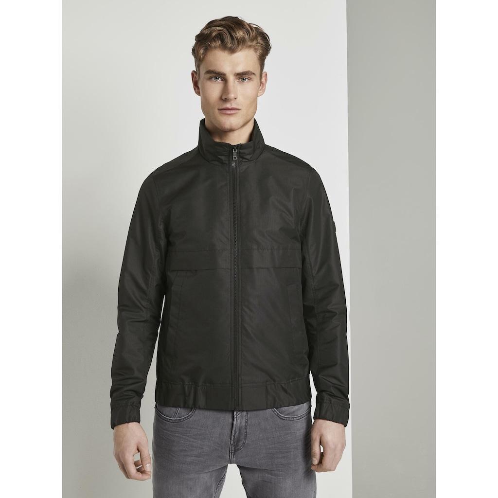 TOM TAILOR Denim Blousonjacke »Moderne Jacke mit Stehkragen«