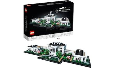 LEGO® Konstruktionsspielsteine »Das Weiße Haus (21054), LEGO® Architecture«, (1483 St.), Made in Europe kaufen