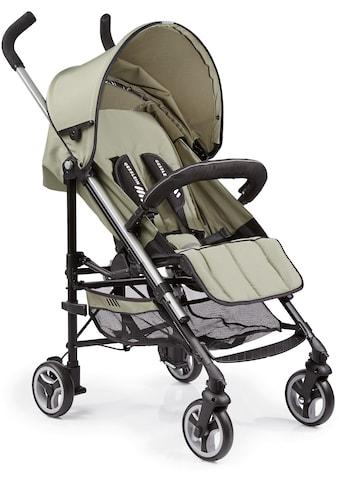 Gesslein Kinder-Buggy »S5 2+4, Khaki«, mit schwenkbaren Vorderrädern kaufen