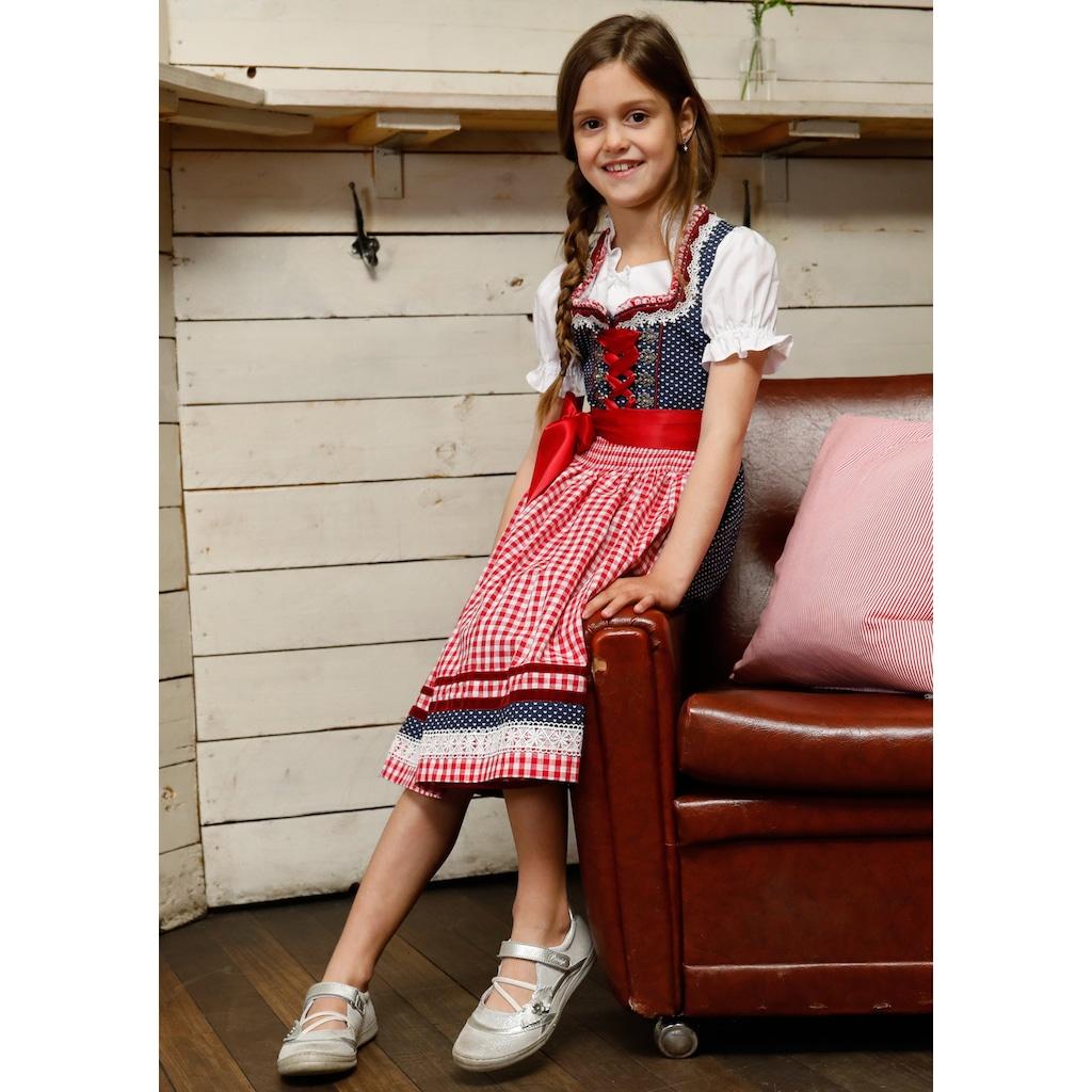 Andreas Gabalier Kollektion Dirndl, (3 tlg.), Kinder mit Bänderschnürung