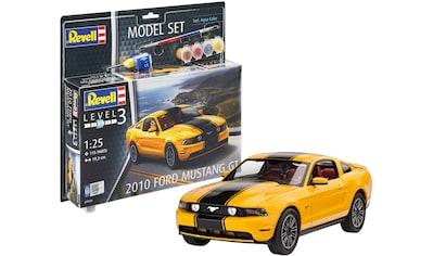 Revell® Modellbausatz »Model Set 2010 Ford Mustang GT«, (Set), 1:25 kaufen