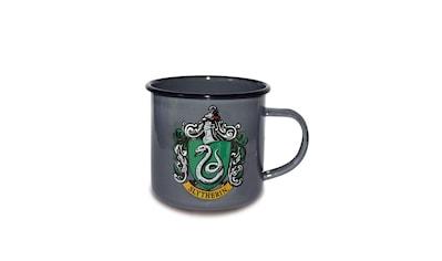 LOGOSHIRT Emaillebecher mit filigranem Slytherin-Wappen kaufen