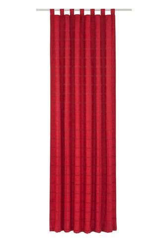 Vorhang, »Toco - Karo«, Wirth, Schlaufen 1 Stück kaufen