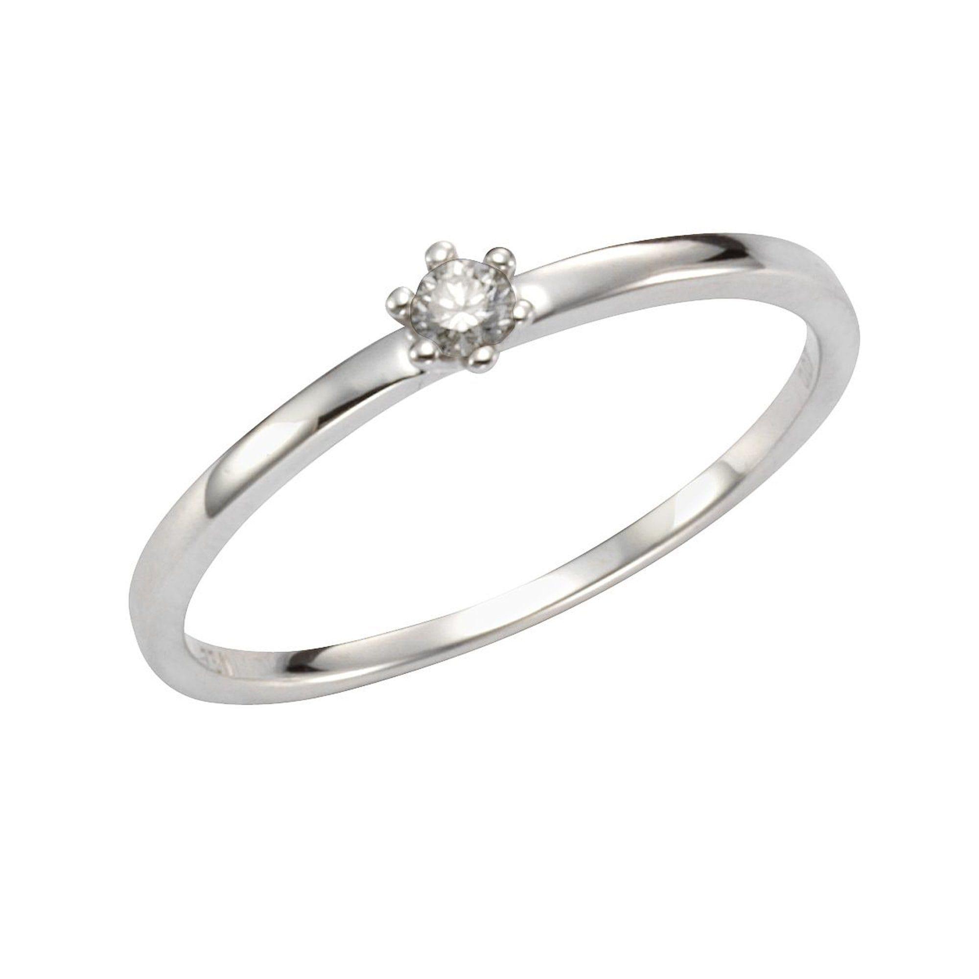 Orolino Ring 585/- Weißgold Brillant | Schmuck > Ringe > Goldringe | Weiß | Orolino