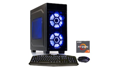 Hyrican Gaming PC Ryzen™ 7 2700, 16GB, SSD + HDD, AMD RX 580 »Striker 6159« kaufen