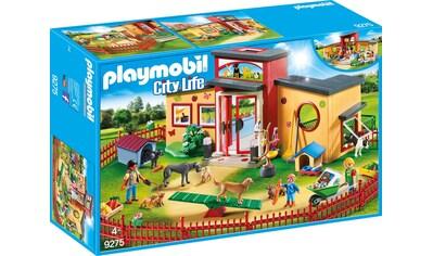 Playmobil® Konstruktions-Spielset »Tierhotel Pfötchen (9275), City Life«, Made in Germany kaufen