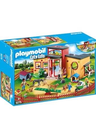 "Playmobil® Konstruktions - Spielset ""Tierhotel Pfötchen (9275), City Life"", Kunststoff kaufen"