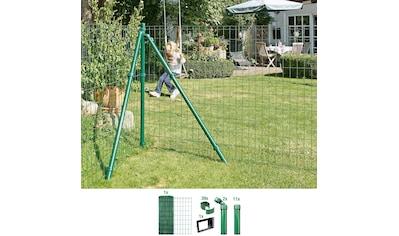 GAH ALBERTS Set: Schweißgitter »Fix - Clip Pro®«, 153 cm hoch, 25 m, grün beschichtet, zum Einbetonieren kaufen