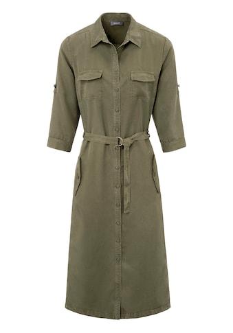Basler Blusenkleid mit Taschen und Bindegürtel kaufen