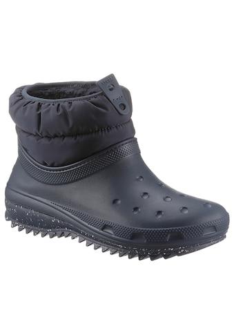 Crocs Snowboots »Classic Neo Puff Shorty Boot«, mit elastischem Schafteinstieg kaufen
