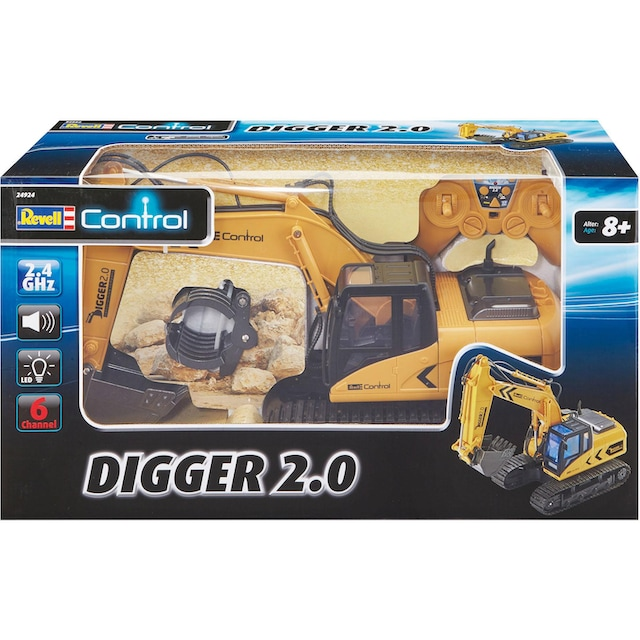 "Revell® RC-Bagger ""Revell® control, RC Raupenbagger, Digger 2.0"""