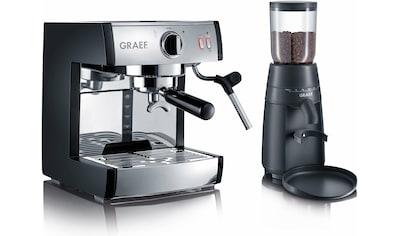Graef Siebträgermaschine Espressomaschine pivalla SET kaufen