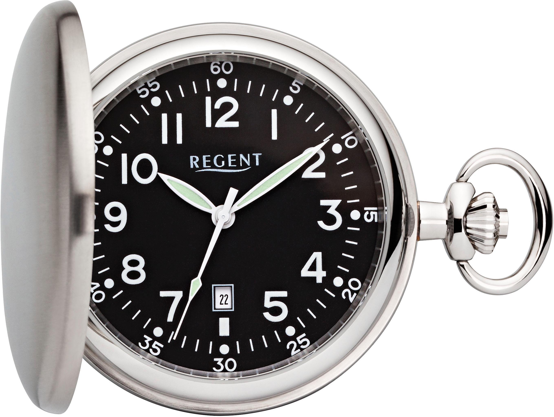 Regent Taschenuhr »P63« (Set, 2 tlg., inkl. Kette) | Uhren > Taschenuhren | Regent