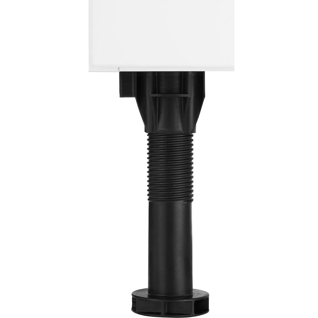 OPTIFIT Kühlumbauschrank »Elga«, mit Soft-Close-Funktion, höhenverstellbaren Füßen und Metallgriffen, Breite 60 cm