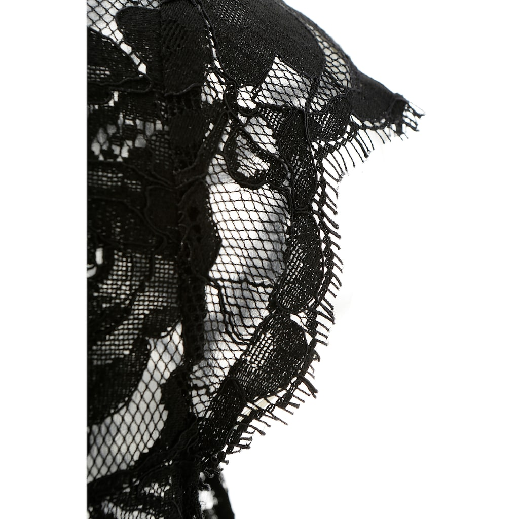 Spieth & Wensky Dirndlbluse »Damen«, aus elastischer Spitze
