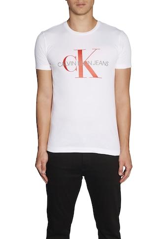 Calvin Klein Jeans T - Shirt »MONOGRAM LOGO SLIM TEE« kaufen