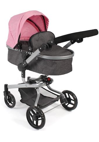 """CHIC2000 Kombi - Puppenwagen """"Yolo, Melange Rosa"""" kaufen"""