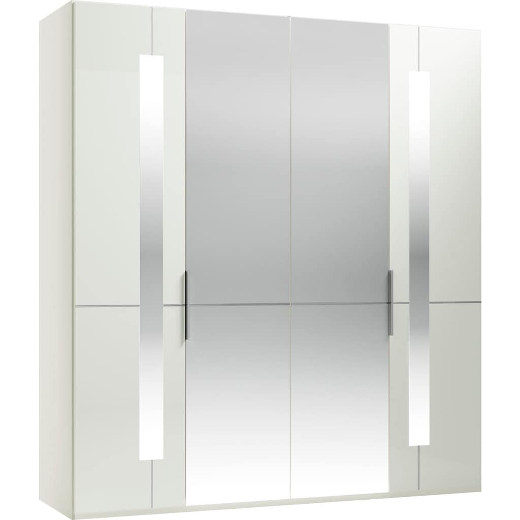 GALLERY M Drehtürenschrank »Imola W«, inkl. Einlegeböden und Kleiderstangen, mit Glas- und Spiegeltüren inkl. Zierspiegel, in zwei Höhen und vier Breiten
