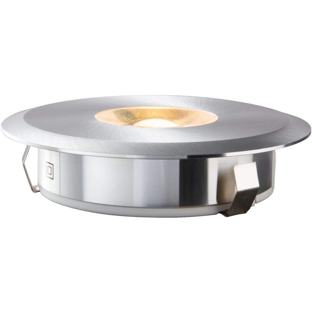 HEITRONIC LED Einbaustrahler »Austin«, LED-Modul, 1 St., Warmweiß, Gehäuse aus massivem Aluminium (CNC gefräst)
