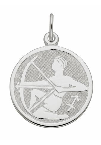 Adelia´s Kettenanhänger »925 Silber Sternzeichen Anhänger Schütze Ø 15,7 mm« kaufen