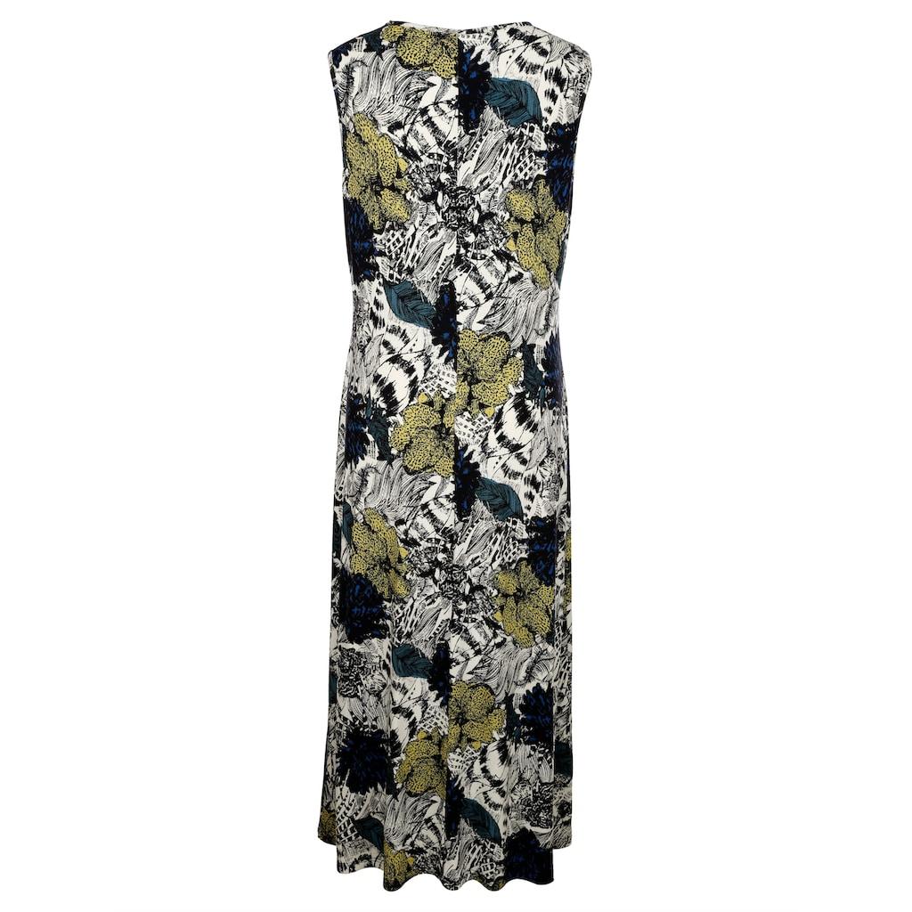 MIAMODA Druckkleid, mit sommerlichem Blumendruck