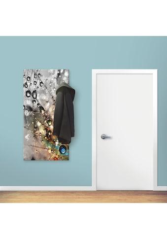 Artland Garderobe »Farbenfrohe Natur«, Garderobe mit 4 großen und 2 kleinen Haken kaufen