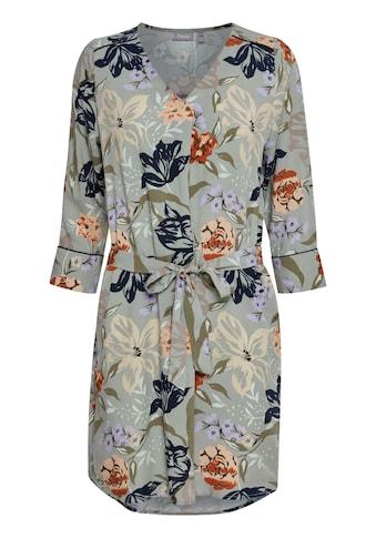fransa Druckkleid »Fransa Freizeitkleid mit floralem Print«, Kurzes Kleid mit Blumenprint kaufen