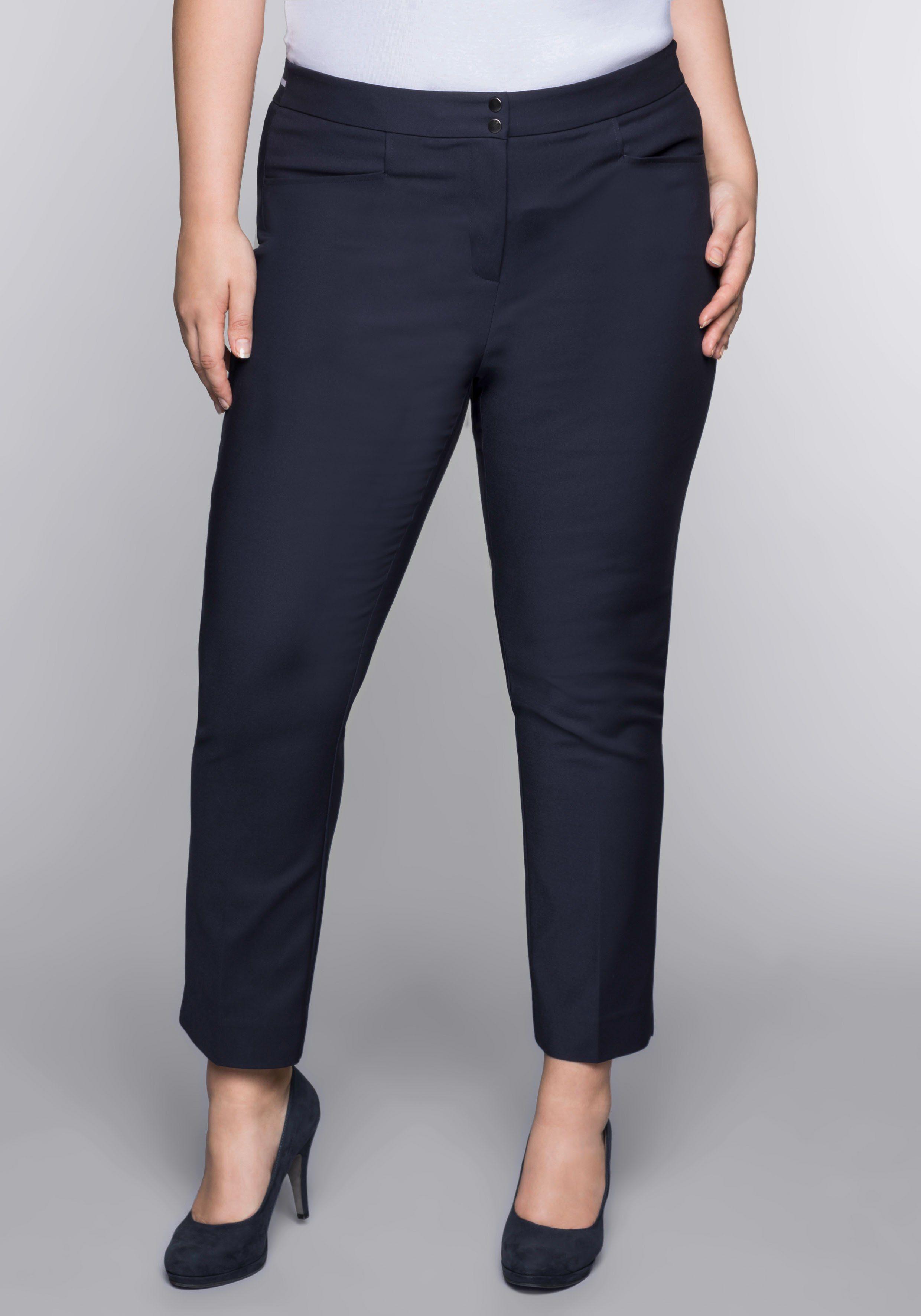 Sheego Bügelfaltenhose | Bekleidung > Hosen > Bügelfaltenhosen | Sheego