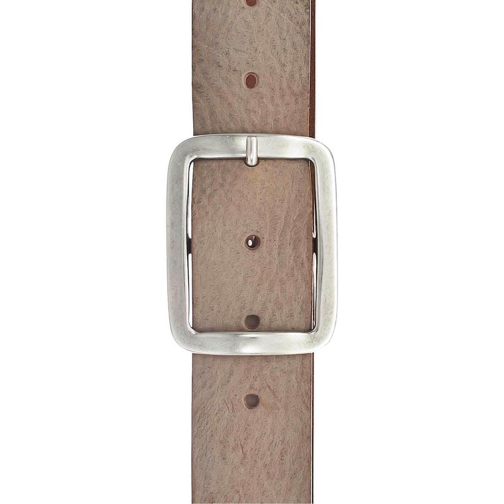 Vanzetti Ledergürtel, Leichte vintage Optik