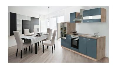 RESPEKTA Küchenzeile »Anna«, mit E-Geräten, Breite 270 cm, mit Glaskeramik-Kochfeld kaufen